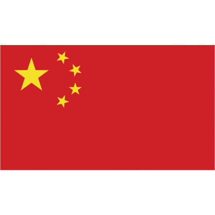 Kina vifteflag i papir (20x27 cm)-30