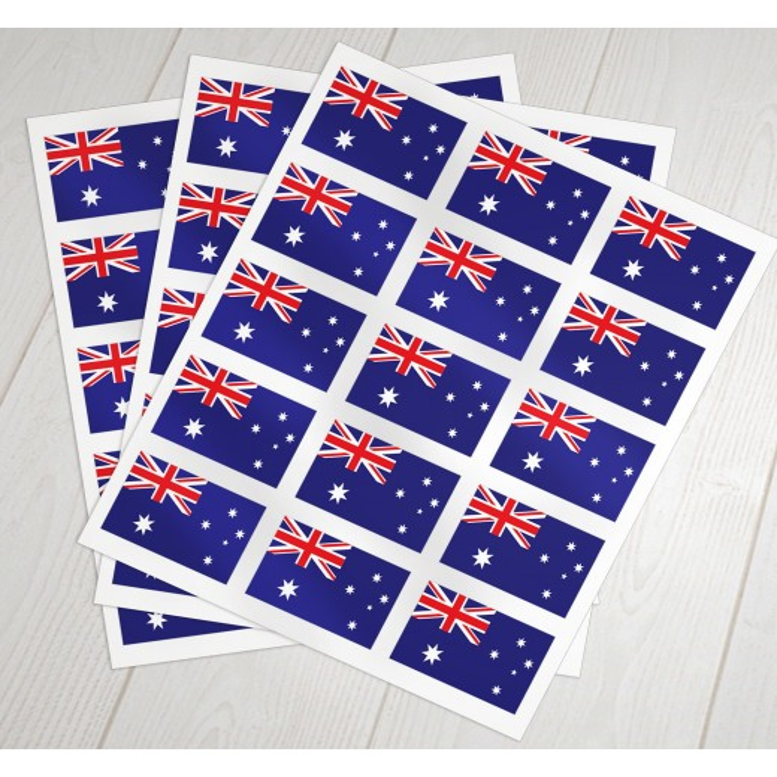 Australske oblat klæbeflag