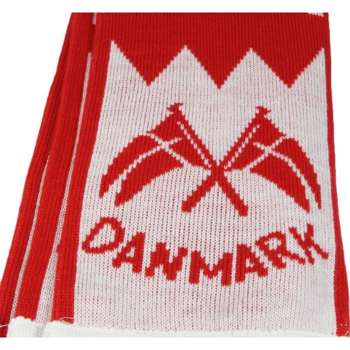 Danmark tørklæde, strikket 20x140 cm.-32