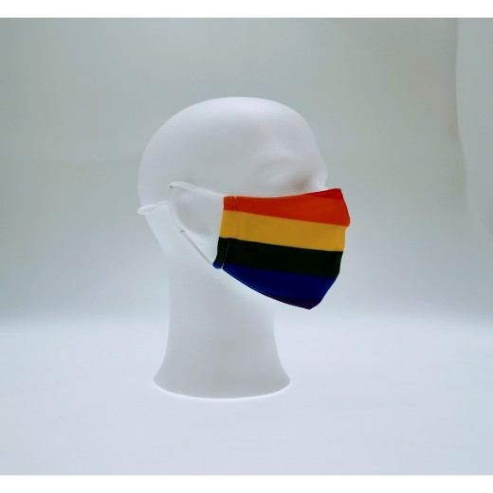 Regnbue maske