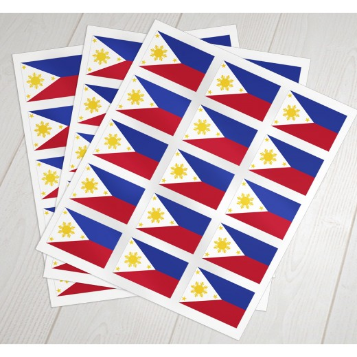Filipinske oblat klæbeflag