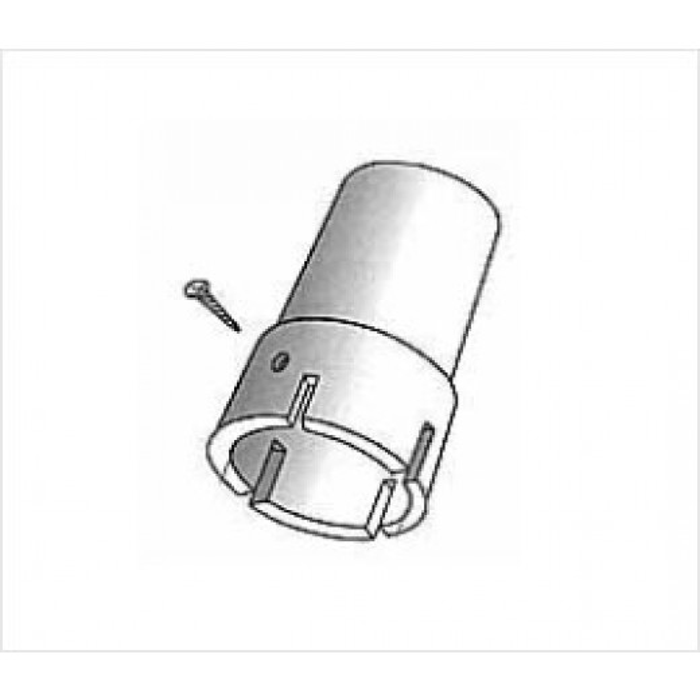 Plasttopbeslag 50 mm-30