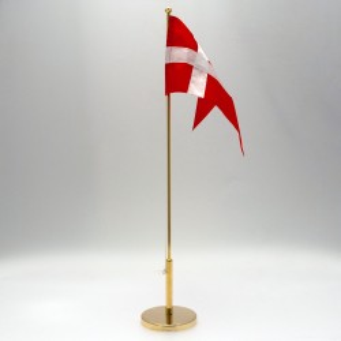 Bordflag 40 cm forgyldt
