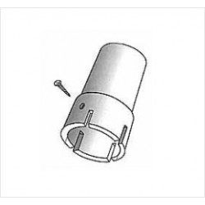 Plasttopbeslag 65 mm-20
