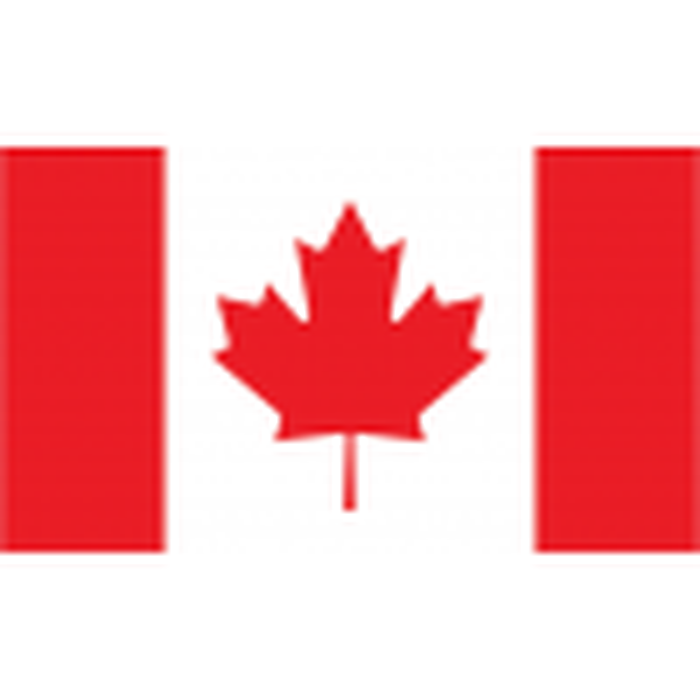 Canada vifteflag i papir (20x27 cm)-00