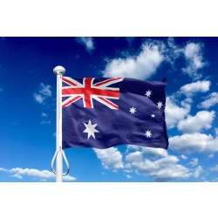 Australien 225 cm, 8-9 mtr. flagstang