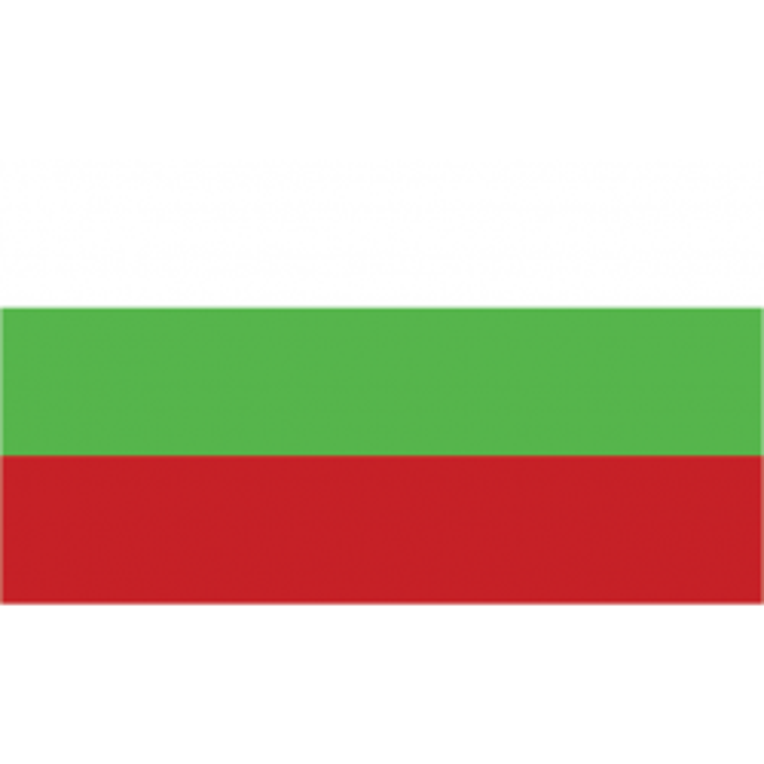 Bulgarien kageflag i papir (30x48 mm)