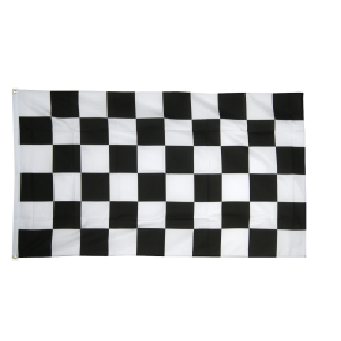 Mål flag i stof (90x150 cm)