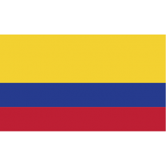 Colombia guirlande i papir (20x27 cm)