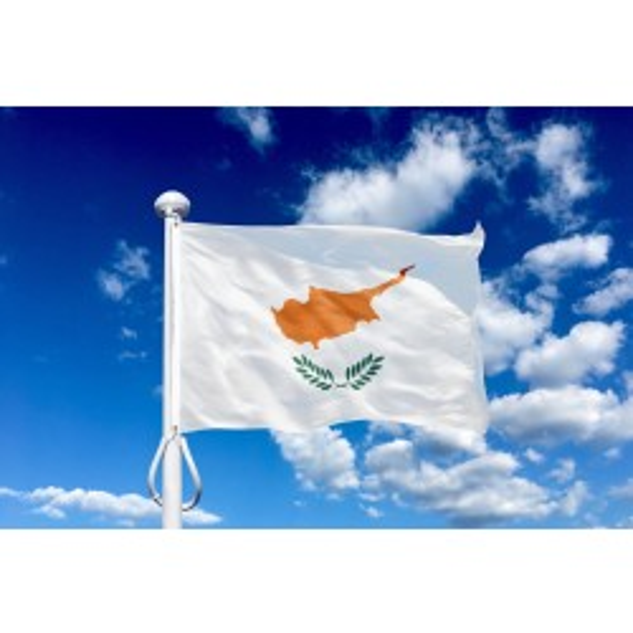 Cypern 150 cm, 5-6 mtr. flagstang