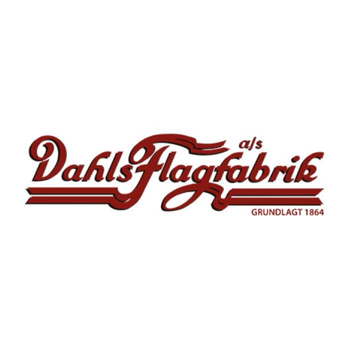 Danmark tørklæde, strikket 20x140 cm.