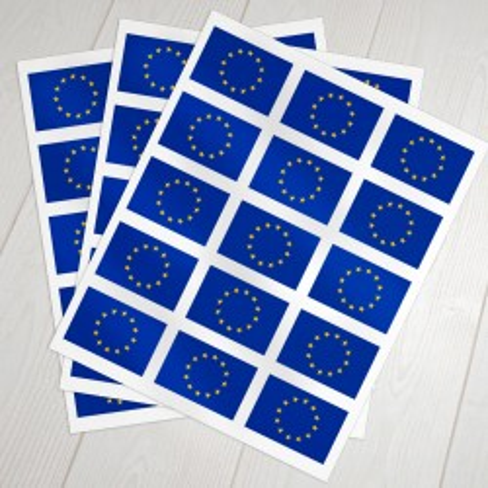 Klæbeflag Europa