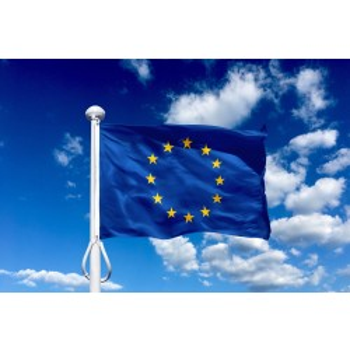 EU 225 cm, 8-9 mtr. flagstang