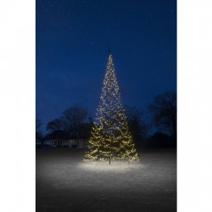 Fairybell lyskæde til 8 mtr. flagstang m/ 1500 LED lys m. blink
