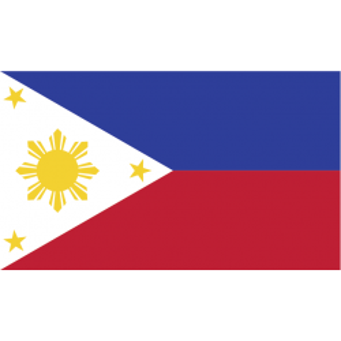 Filippinerne kageflag i papir (30x48 mm)