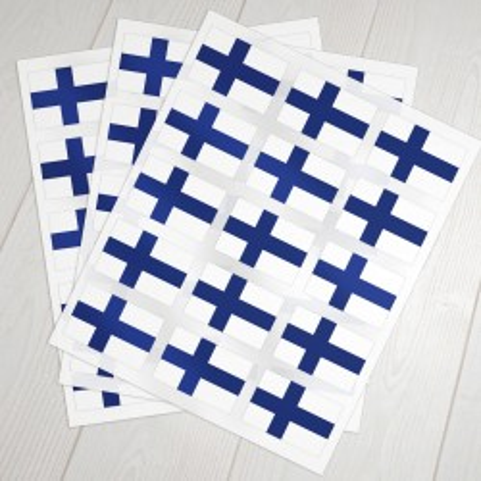 Klæbeflag Finland
