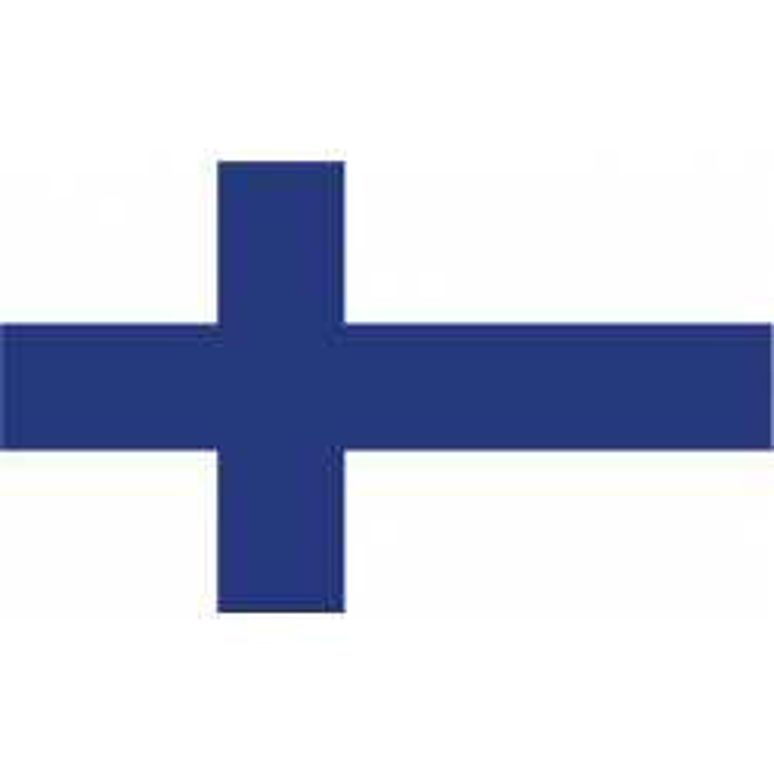 Finland guirlande i papir (20x27 cm)
