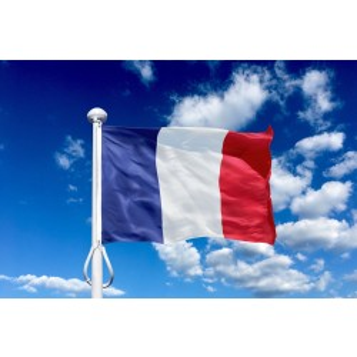 Frankrig 300 cm, 10-12 mtr. flagstang