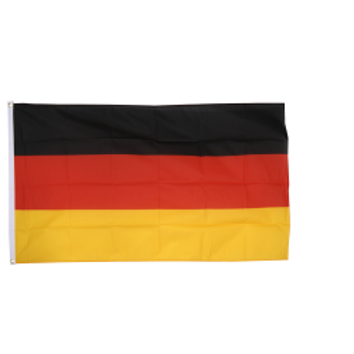 Tyskland flag i stof (90x150 cm)
