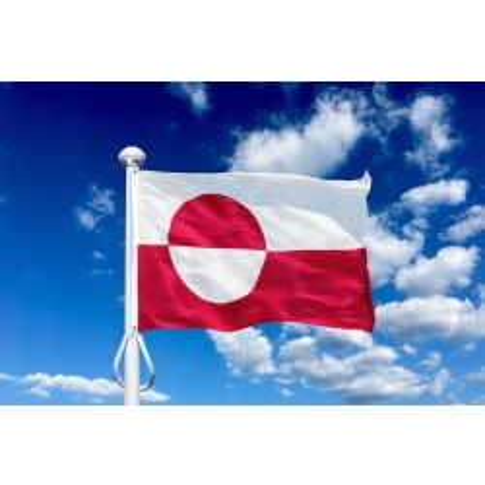 Grønland 150 cm til 5-6 m. flagstang