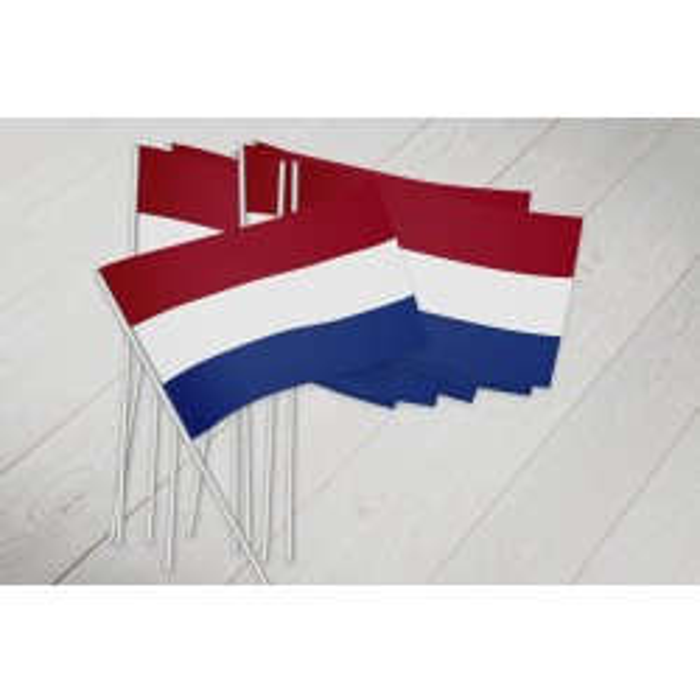 Holland vifteflag i papir (20x27 cm)