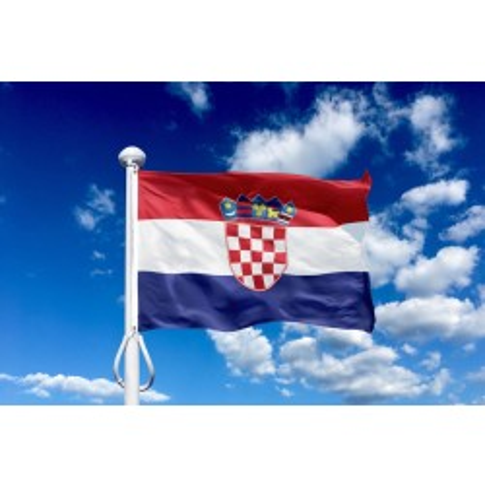 Kroatien 150 cm, 5-6 mtr. flagstang