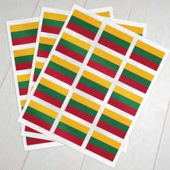 Klæbeflag Litauen