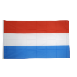 Luxembourg flag i stof (90x150 cm)