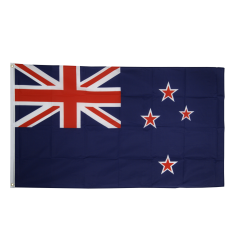 New Zealand flag i stof (90x150 cm)