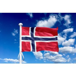Norge 225 cm, 8-9 mtr. flagstang
