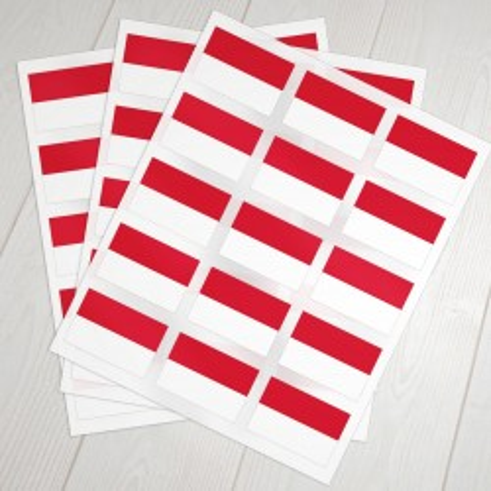 Klæbeflag Indonesien