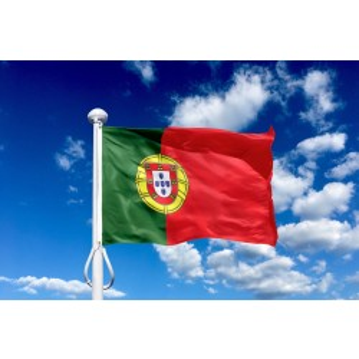 Portugal 225 cm, 8-9 mtr. flagstang