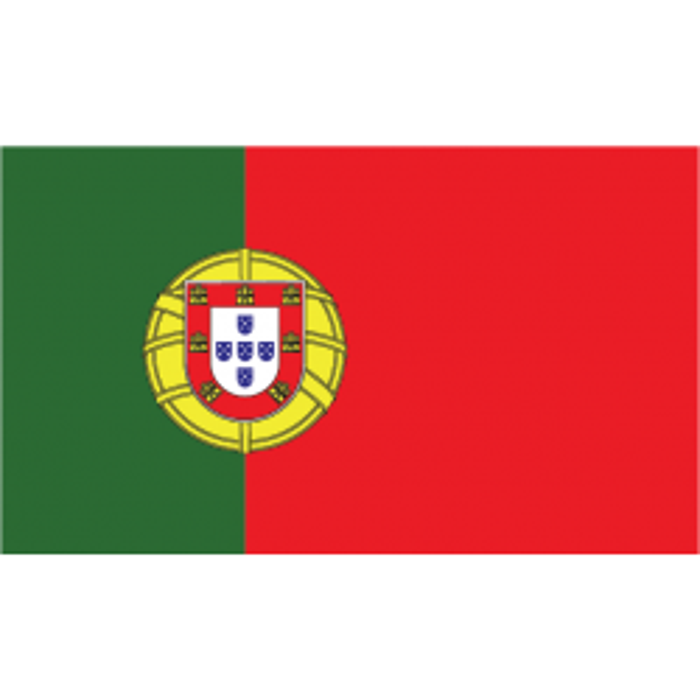 Portugal guirlande i papir (20x27 cm)