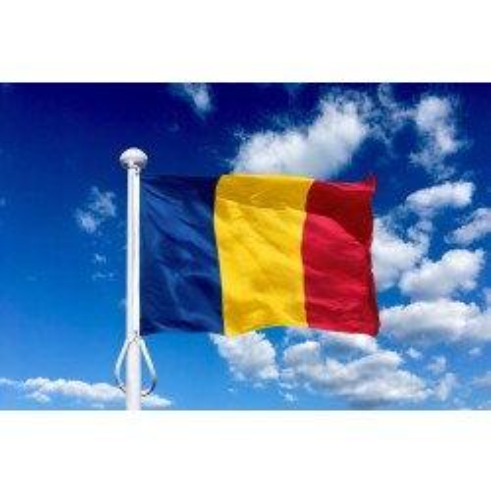 Rumænien 225 cm, 8-9 mtr. flagstang