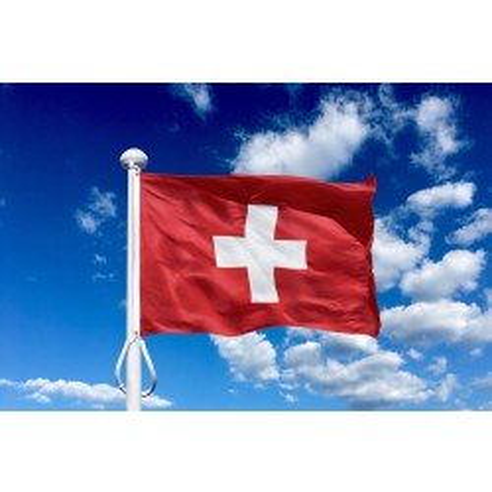 Schweiz 225 cm, 8-9 mtr. flagstang