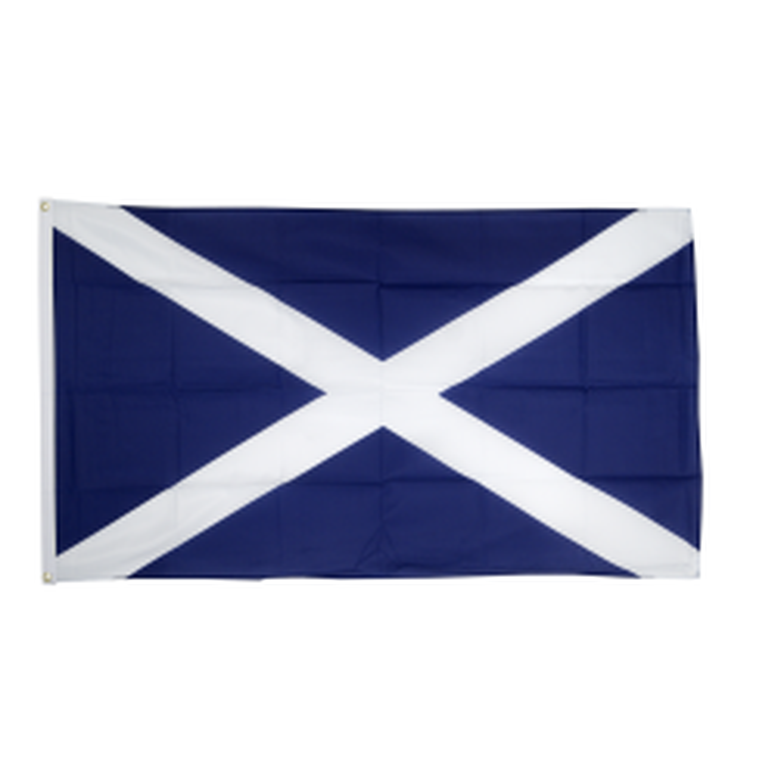Skotland flag i stof (90x150 cm)