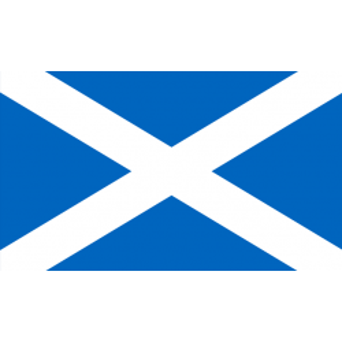 Skotland guirlande i papir (20x27 cm)