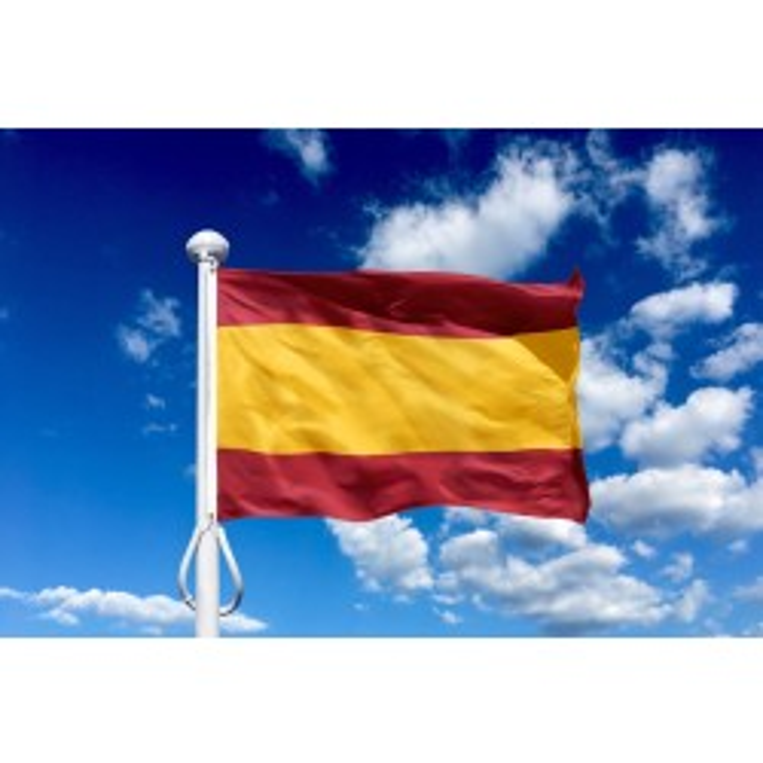 Spanien 225 cm, 8-9 mtr. flagstang