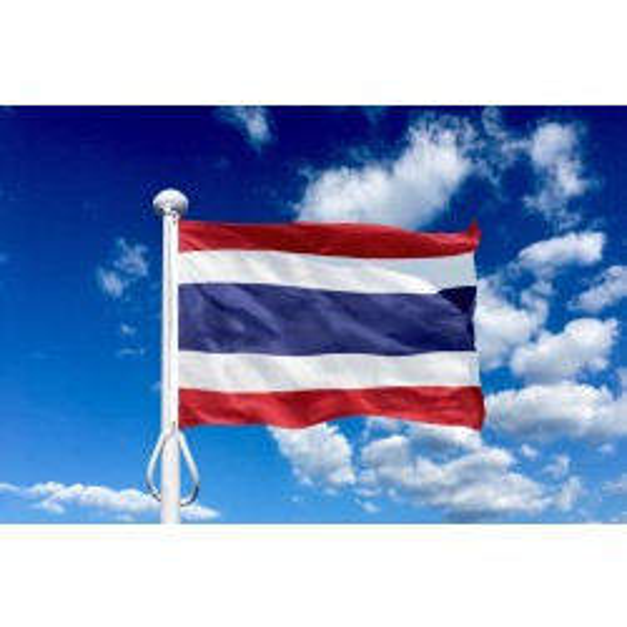 Thailand 150 cm, 5-6 mtr. flagstang