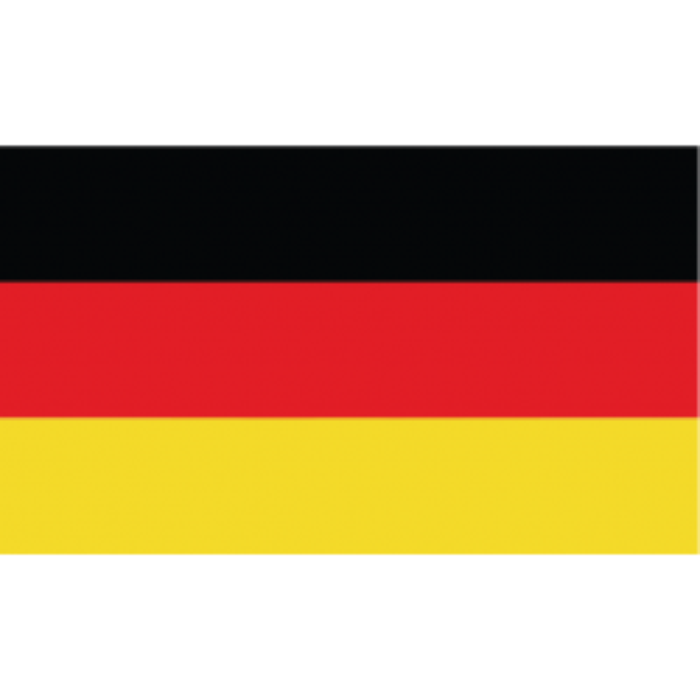 Tyskland guirlande i papir (20x27 cm)