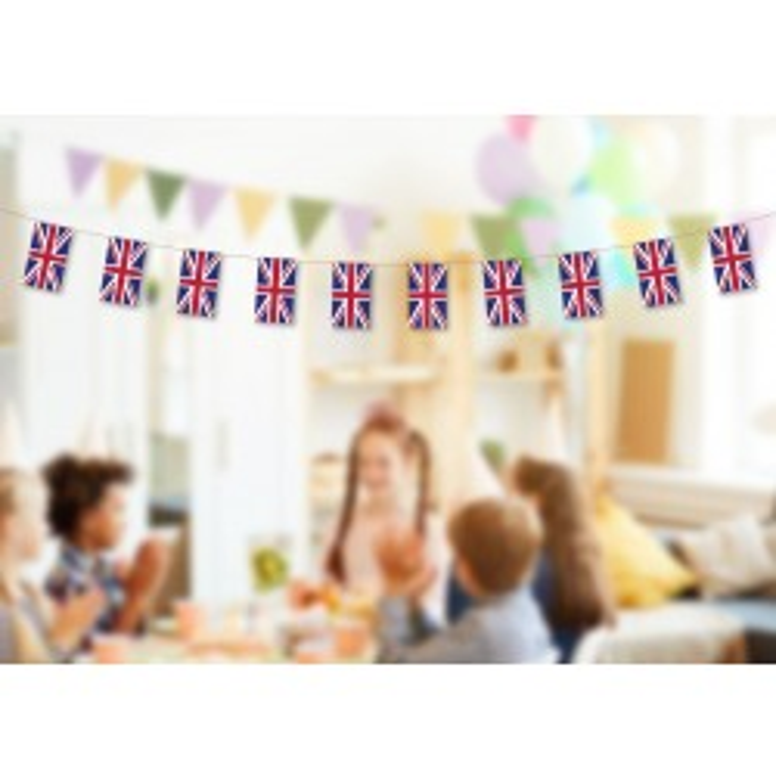 Storbritannien (UK) guirlande i papir (20x27 cm)