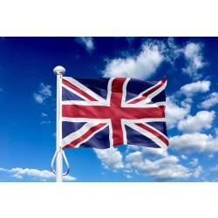 Storbritannien / United Kingdom 150 cm, 5-6 mtr. flagstang