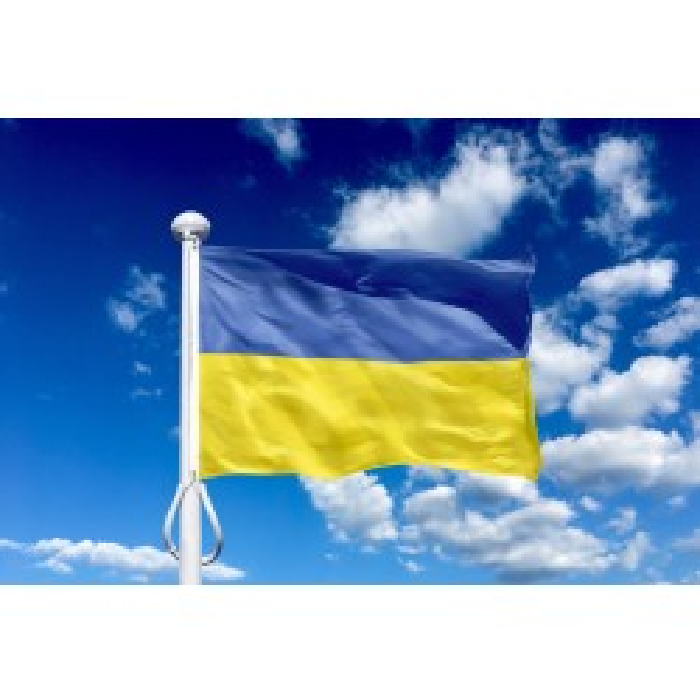 Ukraine 150 cm, 5-6 mtr. flagstang