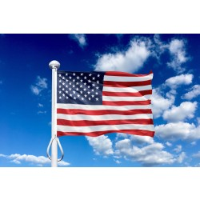 USA 300 cm, 10-12 mtr. flagstang