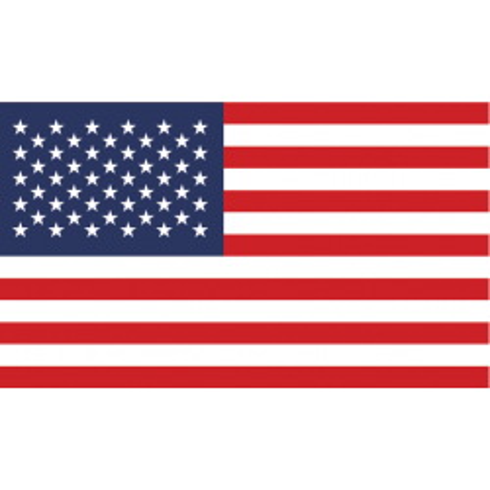 USA guirlande i papir (20x27 cm)